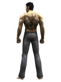 Shirtless Kiryu Kazuma