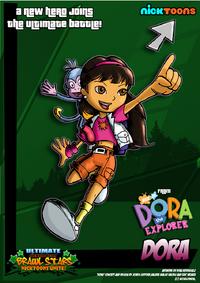 Nicktoons dora the explorer by neweraoutlaw-d5klqo3