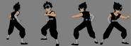 Hiei reference sheet 1 yyhf by game art edited art-d3bk5mk