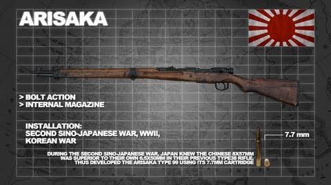 Z Armoury (Nazi Zombies Weaponry Guide) - The 'Arisaka' (Type 99 Rifle)