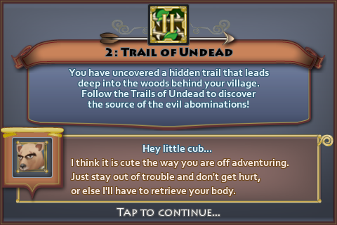 Trail of Undead