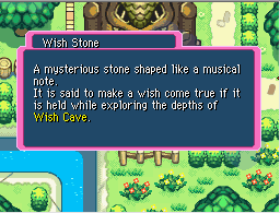 Wish stone description