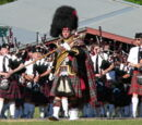 Scottish highland games in the Pacific Northwest