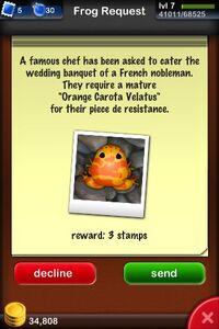 Orange Carota Velatus Request