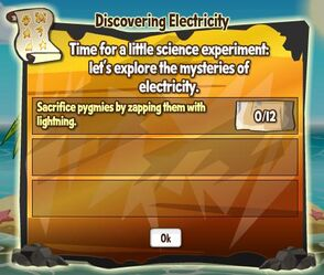 Dicovering electricity