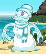 Snow idol
