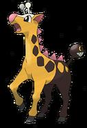 203 Girafarig Art