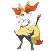 654 Braixen Art