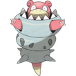 080 Slowbro Mega Art