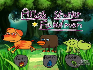 Starters in colour shiny forms