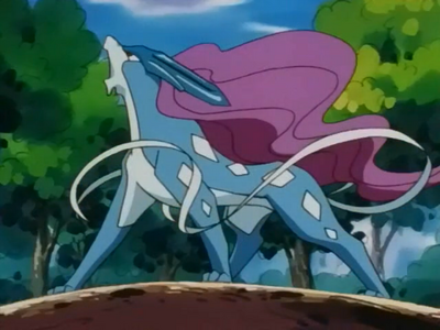 Suicune anime