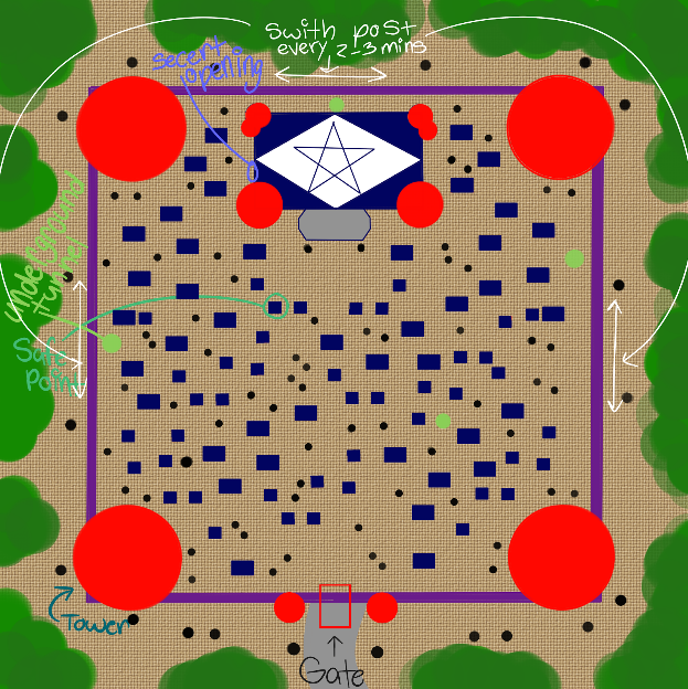 Gang Tie Palace Map