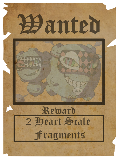 Wanted poster 13-4