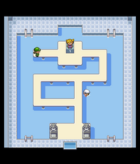 Cerulean Gym Map