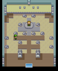 Pewter Gym Map