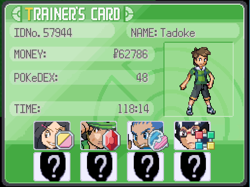Image Pokemon Uranium Tadoke Trainer Id Png Pok 233 Mon Uranium Wiki Fandom Powered By Wikia