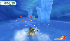 Empoleon's Snow Slide