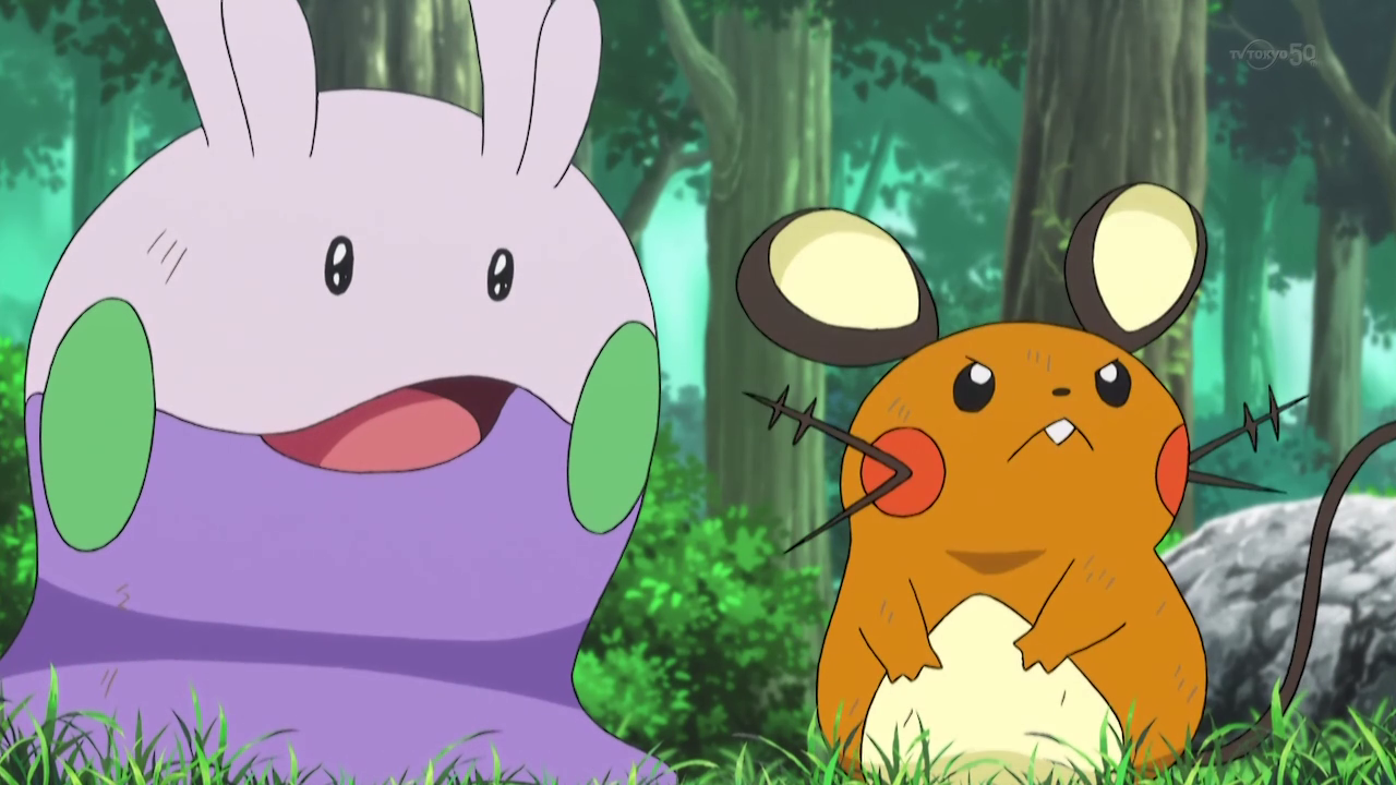 Xy056 One For The Goomy Pok 233 Mon Wiki Fandom Powered