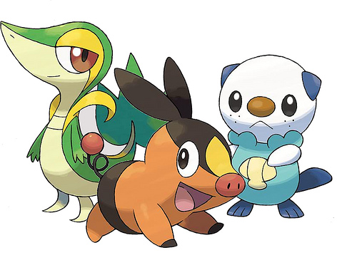 File:The three Unova starters.JPG