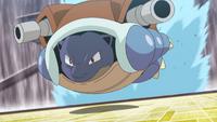 Sailor Blastoise Skull Bash