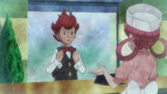 Chili comes in contact with nurse joy