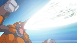 Trainer Rhyperior Flash Cannon