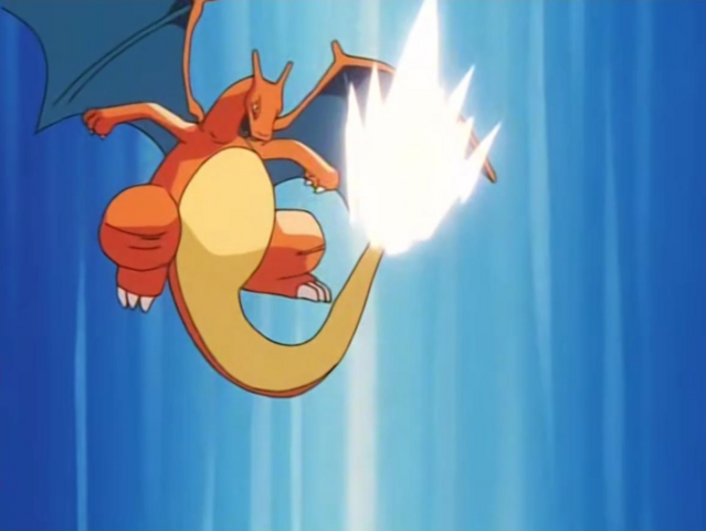 File:Battle Park Charizard Iron Tail.png