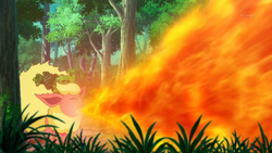 Flareon Flamethrower
