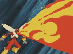 Harrison Blaziken Flamethrower