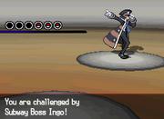 Pokémon White Version Battle wit Ingo