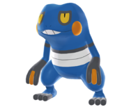 453Croagunk Pokemon Battle Revolution