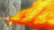 Trevor Charmander Flamethrower