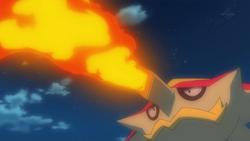 Kiawe Turtonator Flamethrower