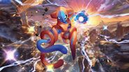 Deoxys Pokemon TCG XY Roaring Skies