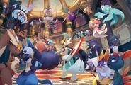 Pokemon masquerade party