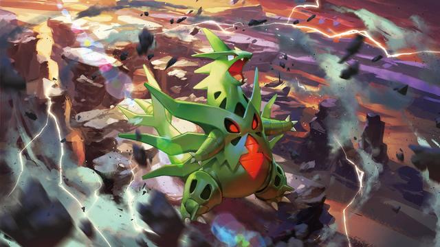 File:Mega Tyranitar - Pokemon TCG XY Ancient Origins.png