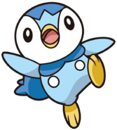 393Piplup DP anime 9