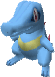 158Totodile Pokemon Stadium