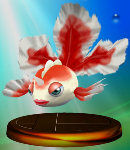 File:Goldeen trophy SSBM.png