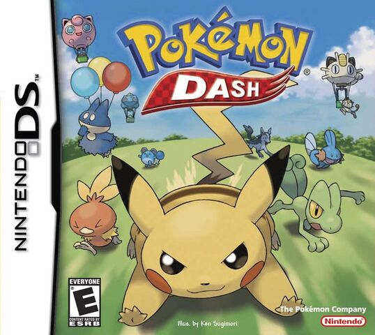 File:Pokémon Dash Cover.jpg
