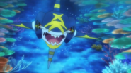 Mega Sharpedo Trailer Anime