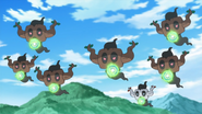 Shiny Phantump XY117 Energy Ball
