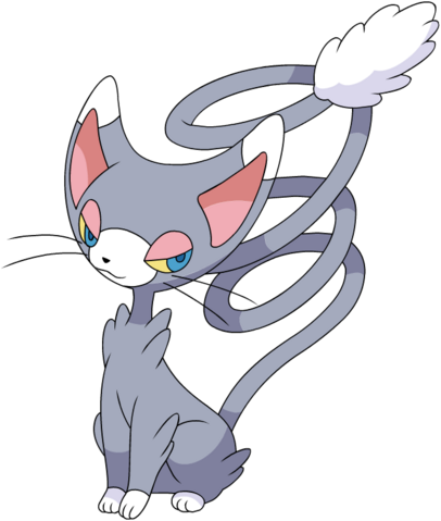 File:431Glameow DP anime.png