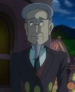 Count Pump's butler