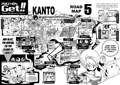 Adventures volume 5 map