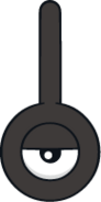 201Unown Exclamation Dream