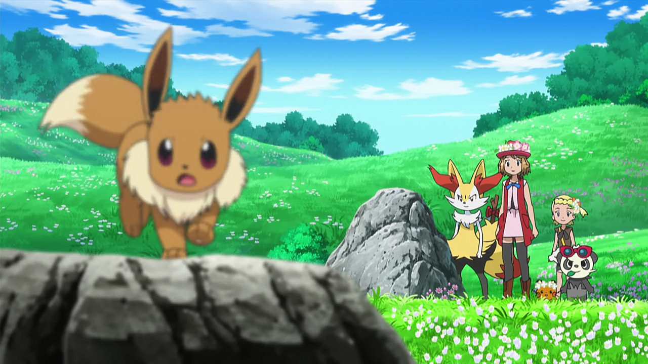 xy089 a frolicking find in the flowers pok233mon wiki
