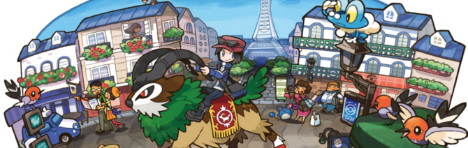 Pokemon X and Y Header