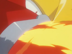 Entei Flamethrower
