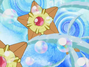 Juan Staryu Water Gun and Bubble Beam